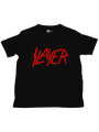 Camiseta Slayer Logo Red para niños