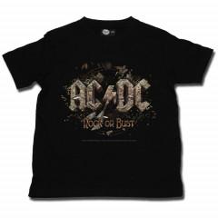 camisetas rockeras para ninos AC/DC