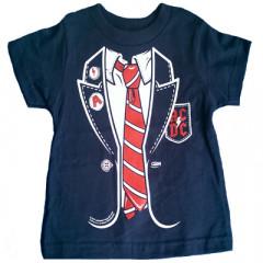 Camiseta AC/DC Red Tie para bebé