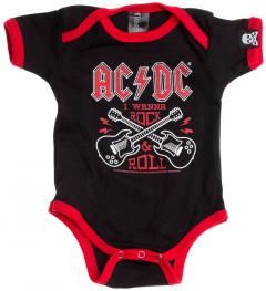 Body Bebé AC/DC Rock 'n Roll