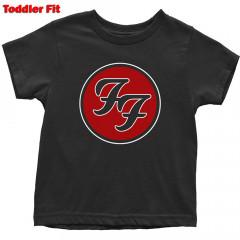Camiseta Foo Fighters para niños Logo Red