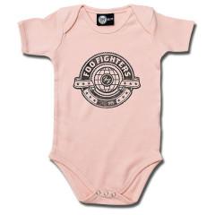 Body Bebé Foo Fighters Logo Pink