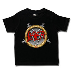 Camiseta Slayer para niños Pentagram