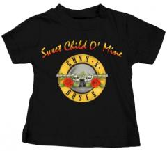 Camiseta Guns 'n Roses Bullet Sweet Child para niños