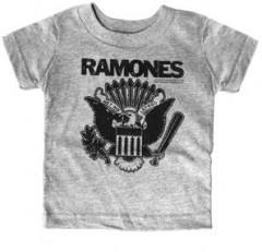 Camiseta Ramones Gray para niños