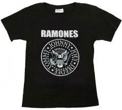 Camiseta Ramones para niños Logo White