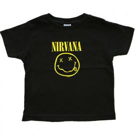 Camiseta Nirvana Smiley para niños