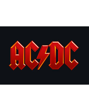 Body Bebé AC/DC Logo Colour