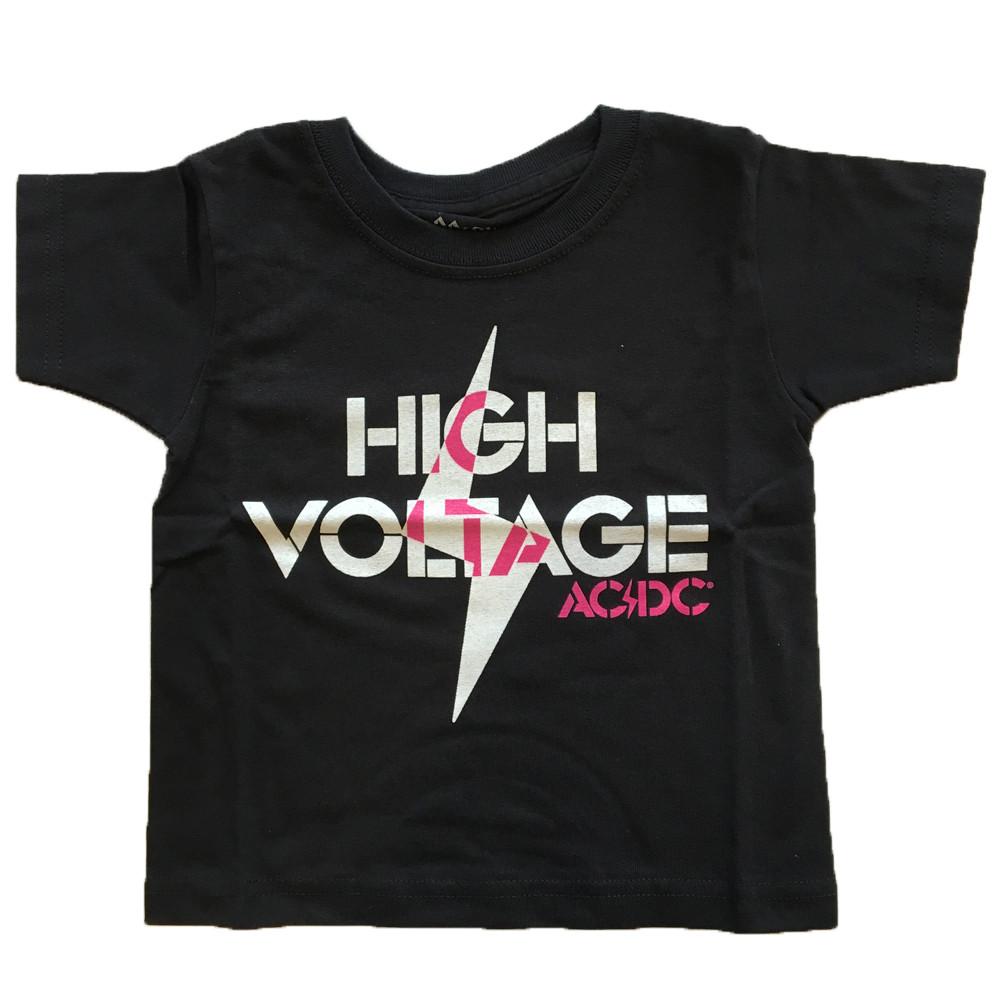 AC/DC Kids T-shirt High Voltage ACDC (Clothing)