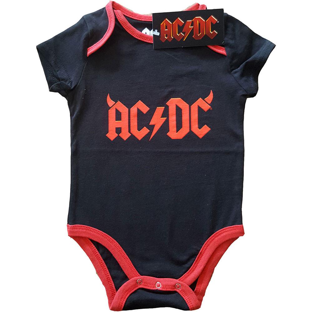 Body Bebé AC/DC Devil Horns