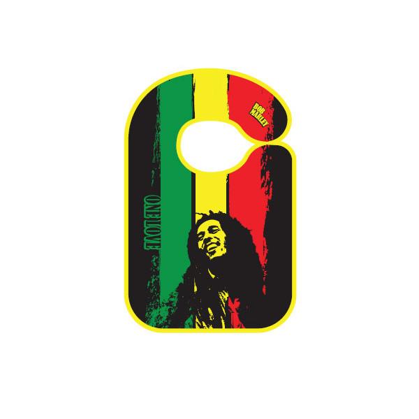 Babero bebe Rock Bob Marley One love