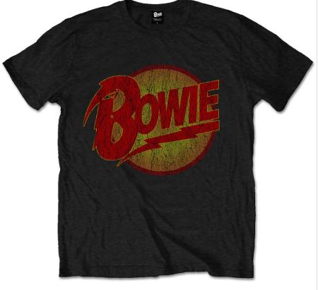 Camiseta David Bowie Diamond Logo para niños