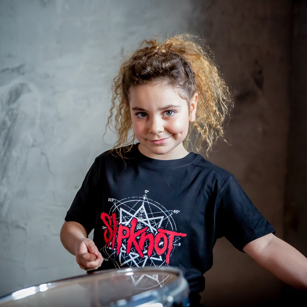 Camiseta Slipknot Scribble fotoshoot