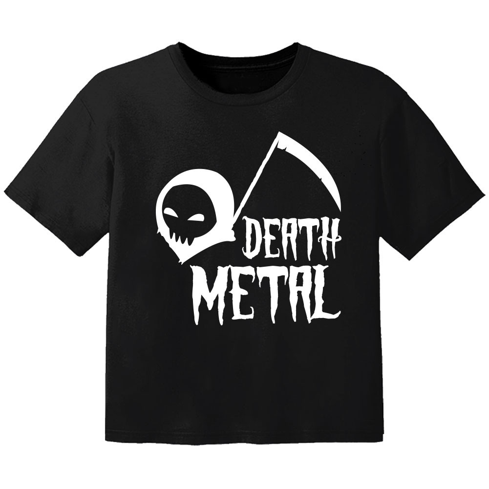 Camiseta Rock para niños death Metal