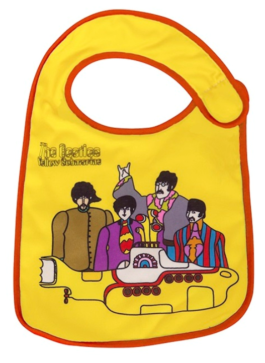 Babero bebe Rock Beatles The Band