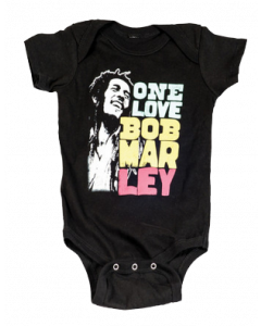 Body Bebé Bob Marley Smile Love