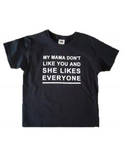 Camiseta Festival para niños My mama