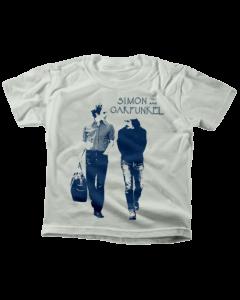 Camiseta para niños Simon and Garfunkel Walking