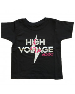 Camiseta AC/DC para niños High Voltage