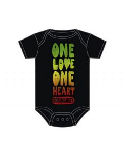 Body Bebé Bob Marley One Love One Heart
