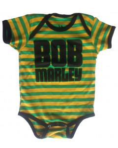 Body Bebé Bob Marley Jamaica Stripe