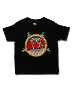 Camiseta Slayer para niños Pentagram