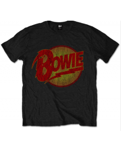Camiseta David Bowie Diamond Logo para niños