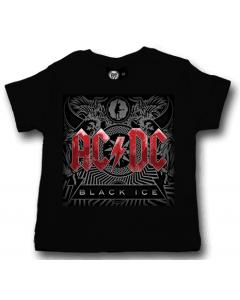 Camiseta AC/DC para bebé Black Ice