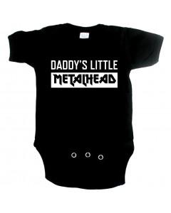 Body Bebé Metal Daddys little Metal head