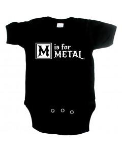 Body Bebé Metal M is for Metal