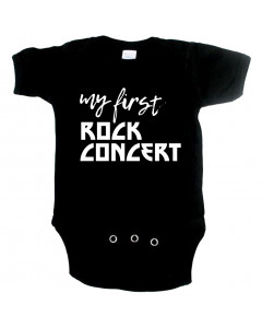 Body Bebé Rock my first Rock concert
