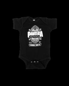 Body Bebé Pantera Stronger Than All