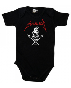 Body Bébé Metallica Scary Guy
