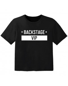 Camiseta Cool para bebé backstage VIP