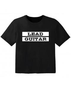 Camiseta Rock para bebé lead guitar