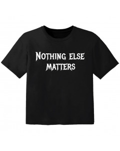 Camiseta Rock para niños nothing else matters