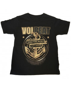 Camiseta Volbeat para niños Seal the deal