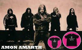 Amon Amarth ropa bebe rock