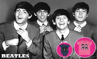Beatles ropa bebe rock