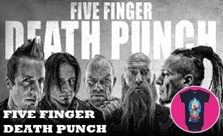 Five Finger Death Punch ropa bebe rock