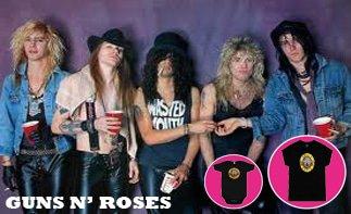 Guns 'N Roses ropa bebe rock