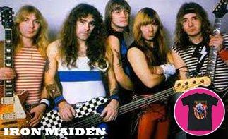 Iron Maiden ropa bebe rock