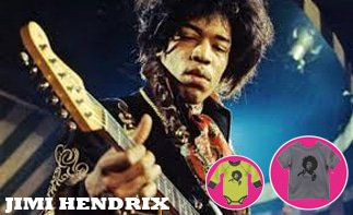 Jimi Hendrix ropa bebe rock