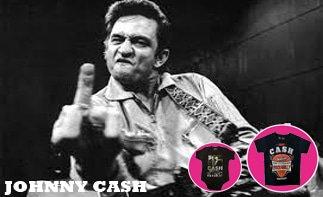 Johnny Cash ropa bebe rock
