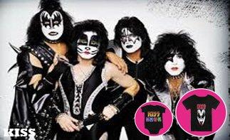 Kiss ropa bebe rock