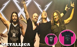 Metallica ropa bebe rock