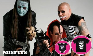 Misfits ropa bebe rock