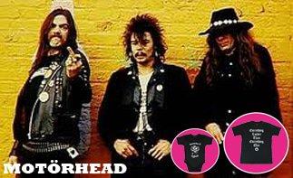 Motörhead ropa bebe rock