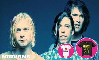 Nirvana ropa bebe rock