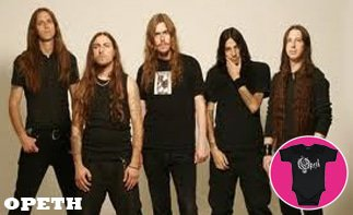 Opeth ropa bebe rock